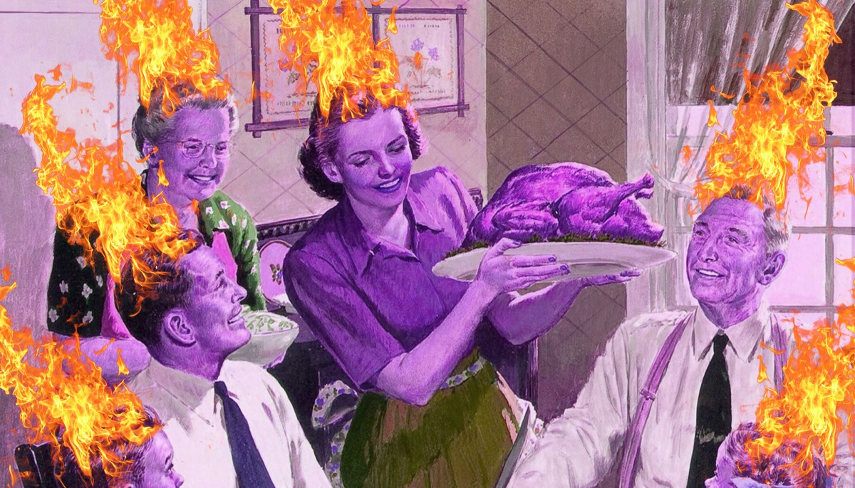 Your Handy Guide to Appropriate Holiday Dinner Reactions