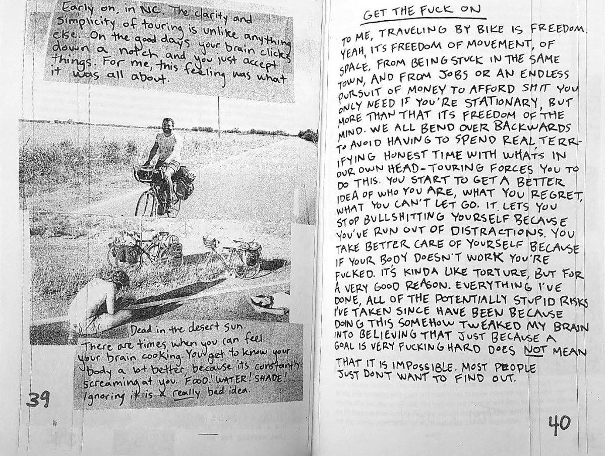 Thinking of Riding Really (Really) Far on Your Bike? Read This Zine!